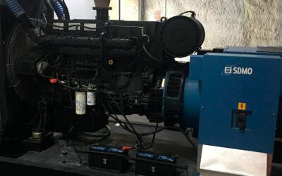 Mantenimiento de un generador eléctrico para evitar fallos