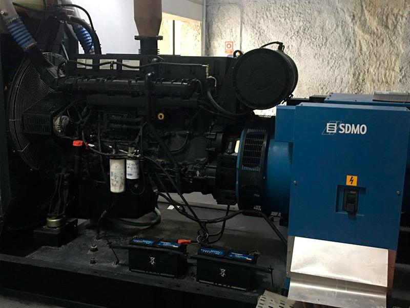 Mantenimiento de un generador eléctrico