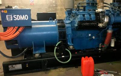 Reparación y mantenimiento de generadores eléctricos